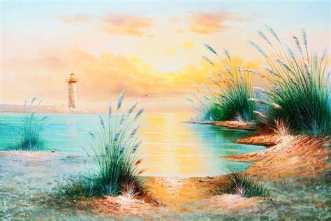 imagenes de paisajes sencillos para pintar im 225 genes arte pinturas paisajes sencillos pintura oleo