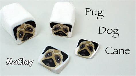 how to pug clay how to make a millefiori pug polymer clay tutorial