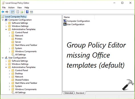 templates word gpo guide install office 2016 group policy templates in