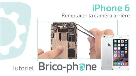 tuto iphone  changer la camera arriere demontage