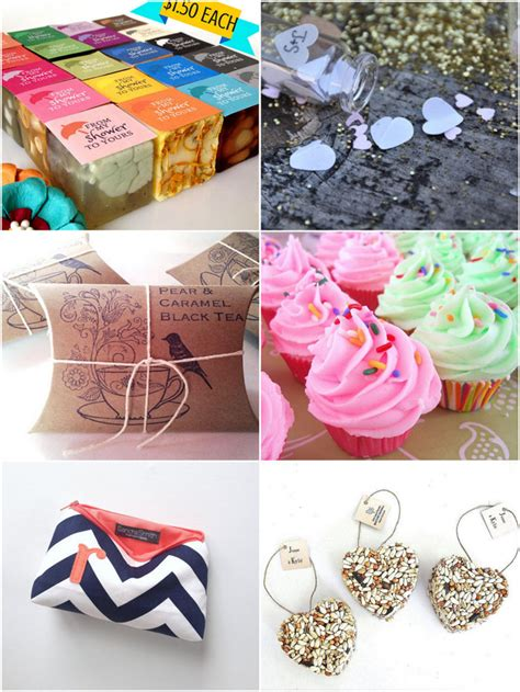 Handmade Bridal Shower Gifts - 6 handmade bridal shower favors guests will trueblu