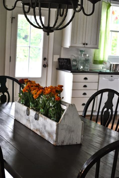 kitchen table decorating ideas willow hill farm farmhouse fall