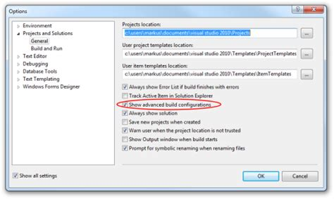 visual studio 2010 reset project settings download free software unit testing xna games