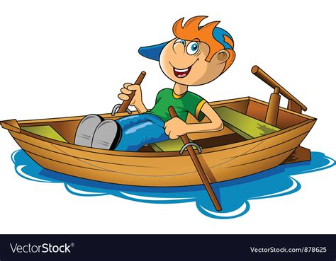 boat rowing images rowing boat royalty free vector image vectorstock