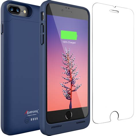 alpatronix bx190plus 5000mah qi wireless iphone 7 8 plus battery charging alpatronix