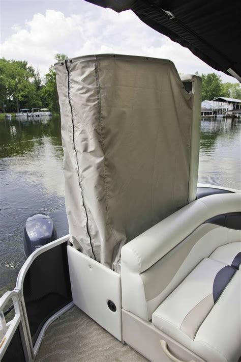 boat with bed and bathroom changing rooms on every boat sweetwater pontoon boats