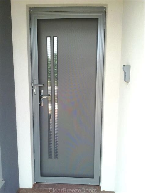 aluminium steel security screen doors melbourne lock