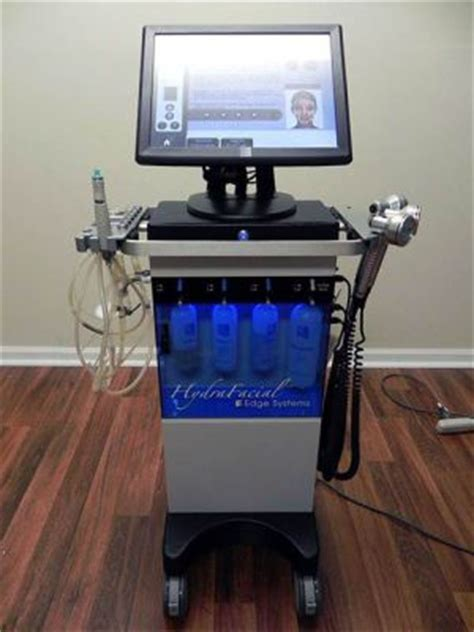 edge system used edge systems hydrafacial tower md microdermabraders