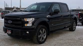 glass test drive 2015 ford f 150 lariat fx4 from