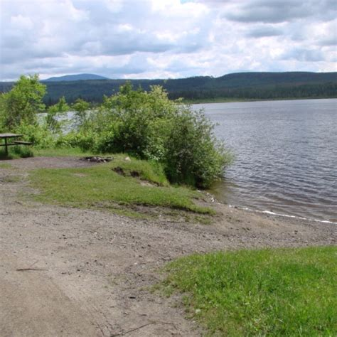 public boat launch lower buckhorn lake recreation sites and trails bc