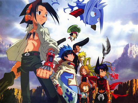 shaman king anime releases character birthdays as well as japanese