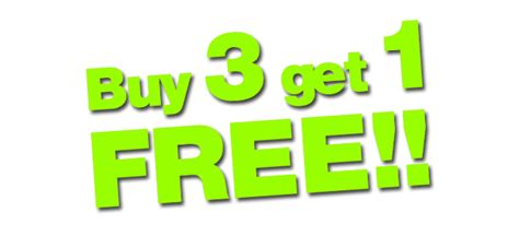 Toyota Buy Three Get One Free Albumin Tablet Promotion Buy 3 Get Free 1