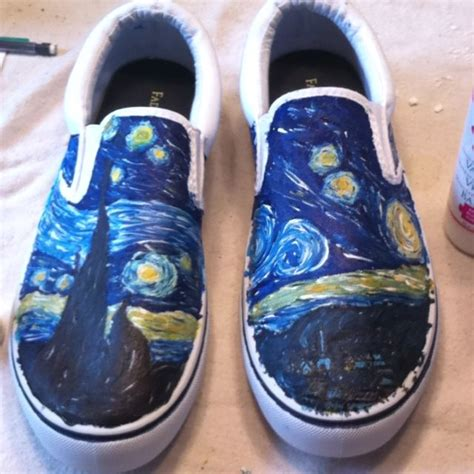 acrylic paint on shoes white canvas shoes that i painted using acrylic paint with