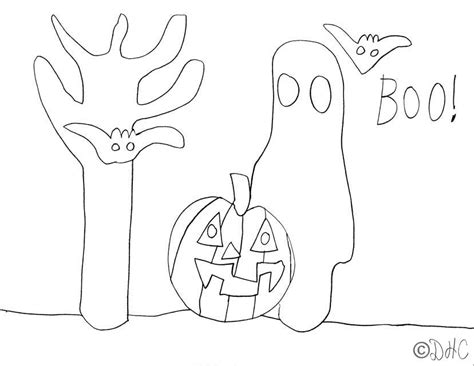 haunted tree coloring page halloween tree coloring pages sketch coloring page