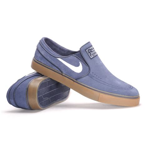 Nike Slip O nike sb air zoom stefan janoski slip on obsidian white