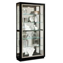 silver trim curio china cabinets and curios dining angled large console curio 2035 for 860 00 in dining