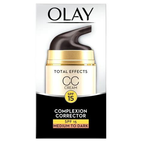 Review Dan Olay Total Effect morrisons olay total effects moisturiser cc medium 50ml product information
