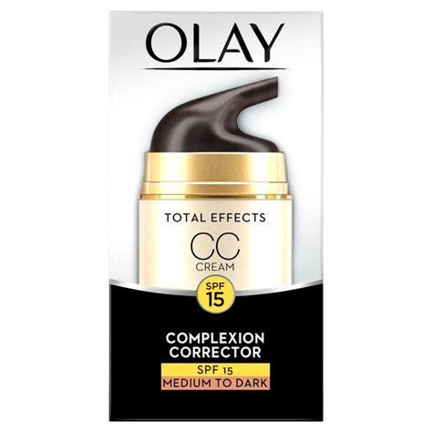 morrisons olay total effects moisturiser cc medium 50ml product information