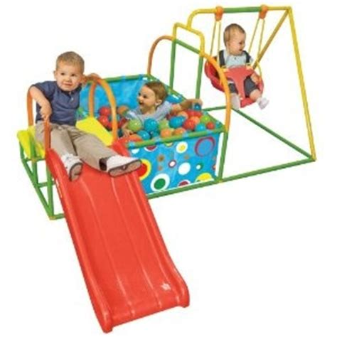 Activity Swing Toddler Swing Set Slide Pit Activity Baby