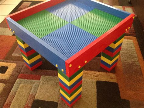 Lego Building Table by Lego Table Child S Lego Building Table From Casual Co