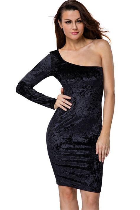 Little Black Dress One Sleeve