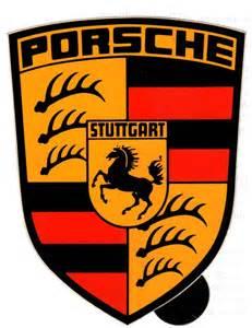 Porsche Crest Porsche Crest Decals Small Medium And Large Pelican