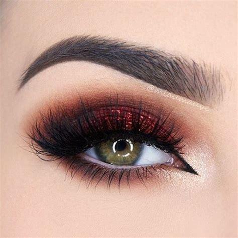 atmiaumauve shows    rock  red smoky eye