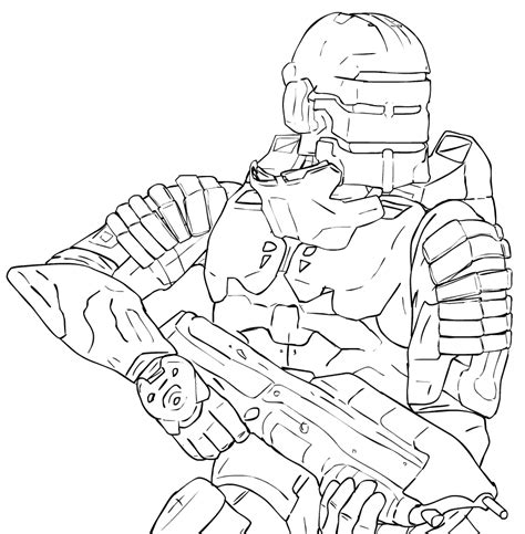 halo 5 arbiter coloring pages coloring pages