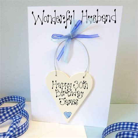 Personalised Birthday Cards For Husband Husband S Personalised Birthday Card By Country Heart