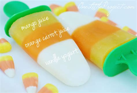 how to make candy corn popsicles