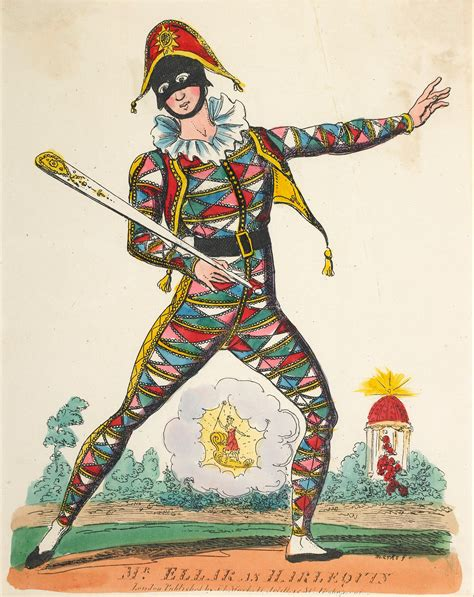 The Harlequin grouth of harlequin from commedia dell arte to