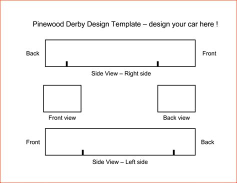 free pinewood derby car design templates pinewood derby templates tryprodermagenix org