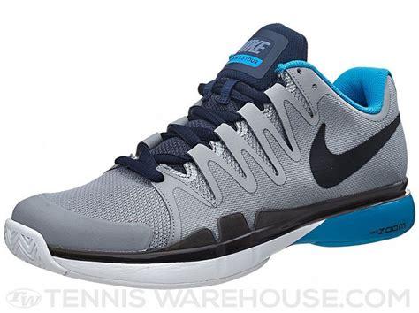 Nike Tennis List nike zoom vapor 9 5 tour grey blue s shoe wish list