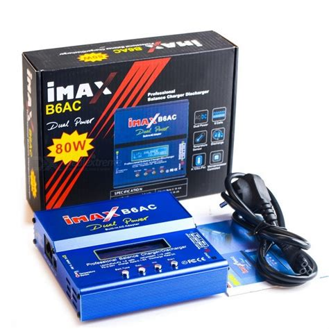 Best Seller Imax B6ac Multifunction Intelligent Balance Lipo Battery imax b6ac 2 6 quot lcd rc lipo battery balance charger blue eu free shipping dealextreme