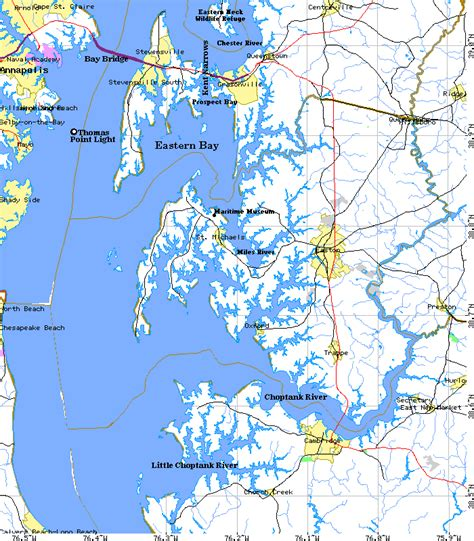 chesapeake bay map the chesapeake bay guide middle chesapeake bay map