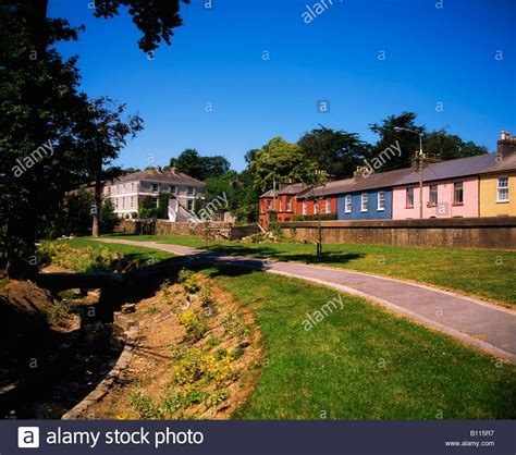 houses to buy in cork co cork georgian houses in kanturk ireland stock photo royalty free image 17851547