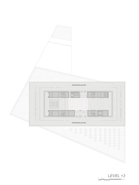 new museum floor plan new acropolis museum by bernard tschumi architects