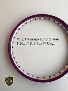 Velg Takasago Excel Asia 14 X 185 velg set tdr 2 tone black gold idr 650 000 ukuran