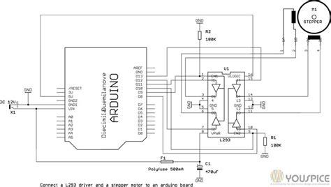 arduino motor driver   youspice