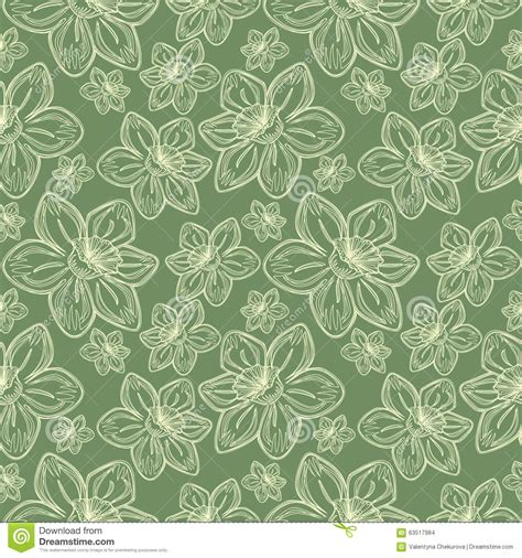 imágenes flores vintage seamless vector flowers pattern vintage background with