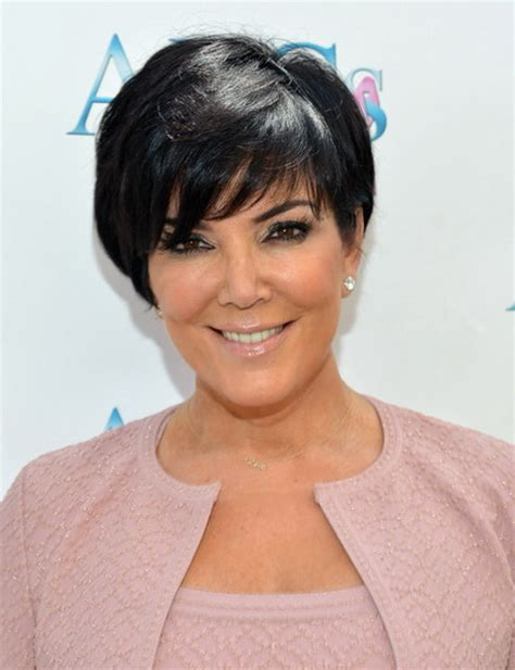 kardashian mother haircut kris kardashian haircut