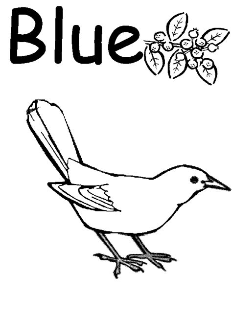 things blue coloring pages az coloring pages