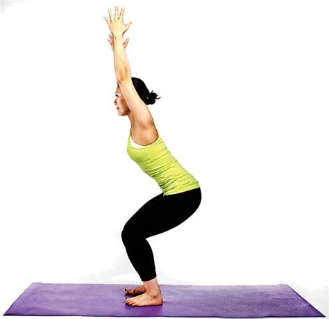Chair Pose by Calorie Blasting For A Great At