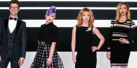 fashion police fashion police without joan rivers kathy griffin takes