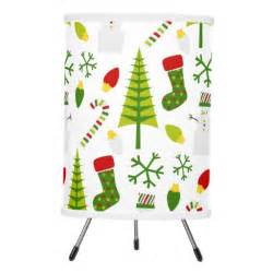 holiday custom christmas tree pattern tripod l zazzle
