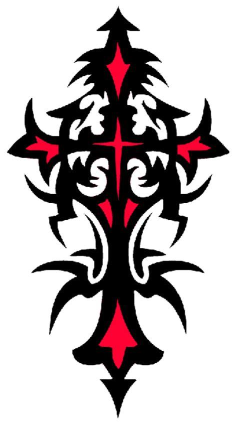 cruz tattoo png tribal cross tattoos photos flash all styles and