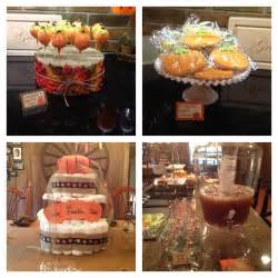 pumpkin baby shower baby shower ideas