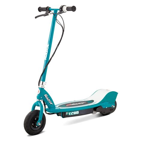 razor and razor 174 13112445 e200 electric scooter teal