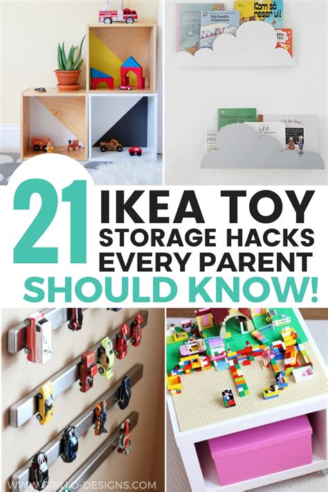 idea hacks 21 ikea toy storage hacks every parent should know