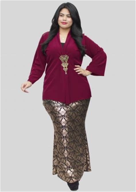 Baju Kebaya Untuk Orang Gemuk 33 model baju kebaya modern yang elegan dikenakan info tren baju terbaru di indonesia